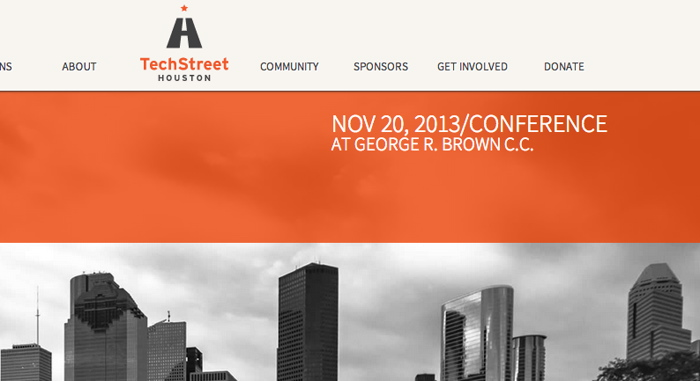 Techstreet Houston will showcase Houston's smarter, techier side this November 20th at the George R. Brown.
