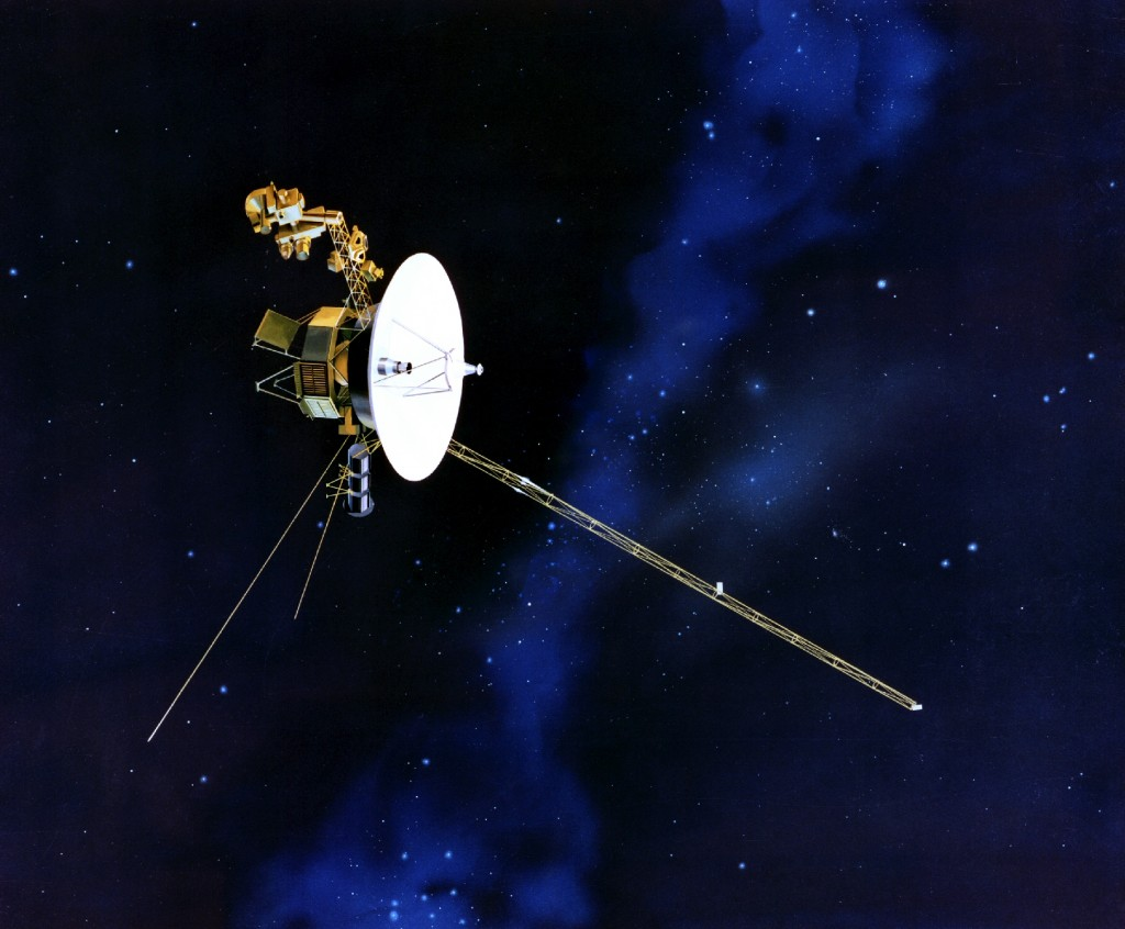 Do you realize Voyager 1 was launched in 1977 and is now OUTSIDE THE SOLAR SYSTEM!
