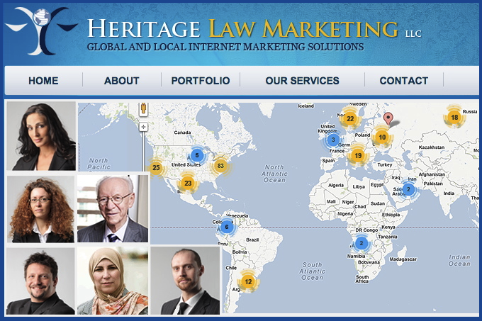 Heritage Law Marketing provides local and international marketing services for attorneys.