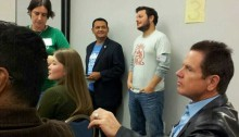 Jeff and Councilman Gonzalez before kicking off Houston Startup Weekend Fall 2013.