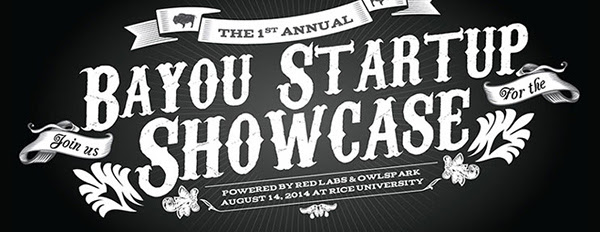 Bayou Startup Showcase will feature Startups from Redlabs and Owlspark.